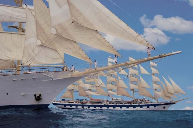 Reiseblog BREITENGRAD53 Ahoi! Segeltörn mit Viermaster Star Clipper in der Karibik 3