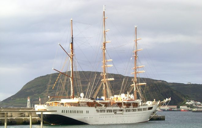 Sea Cloud 2: Video zur Azorenkreuzfahrt