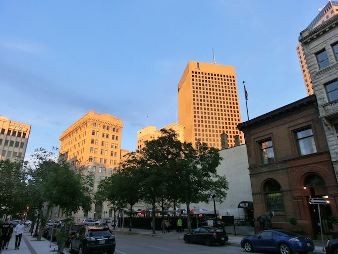 Wolkenkratzer in Winnipeg