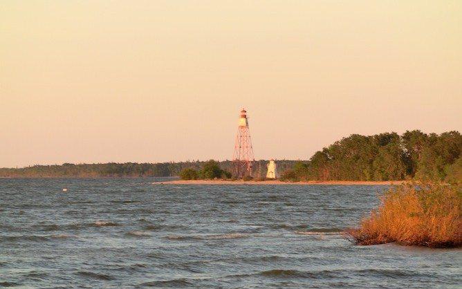 Leuchtturm von Hecla Island