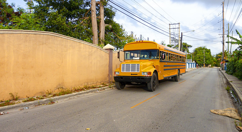 Schule in der Dominikanischen Republik