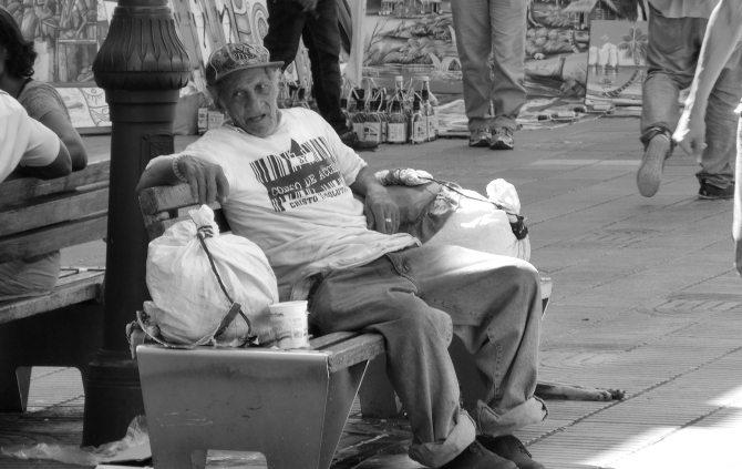 Mann in Santo Domingo