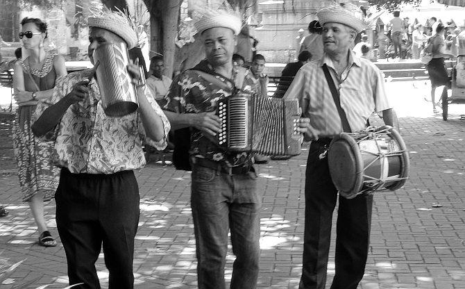Musikanten in Santo Domingo