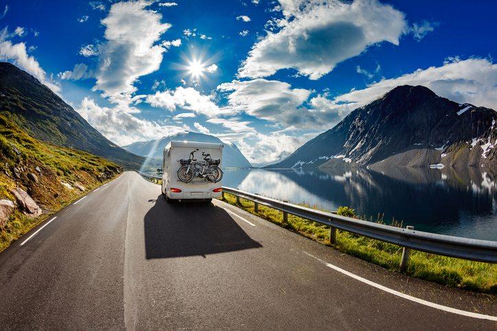Beliebte Reiserouten mit dem Wohnmobil