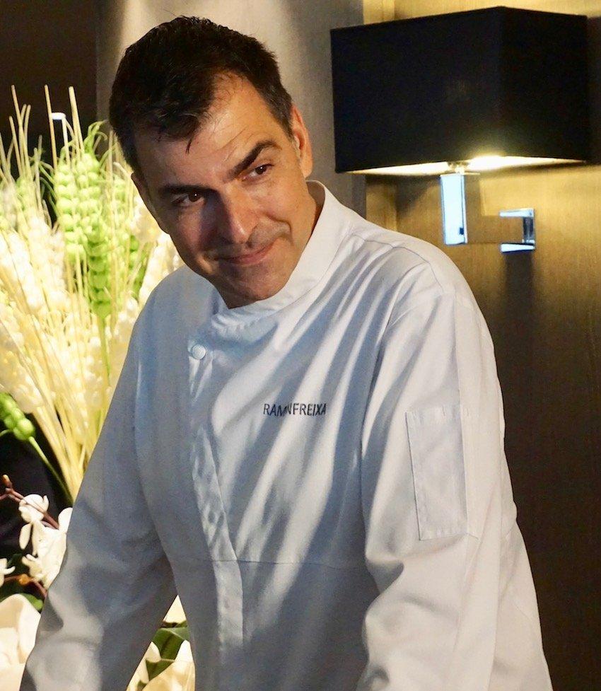 Kocht für MSC: Der spanische Sternekoch Ramón Freixa