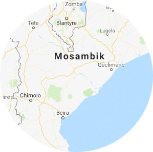 Mosambik lage