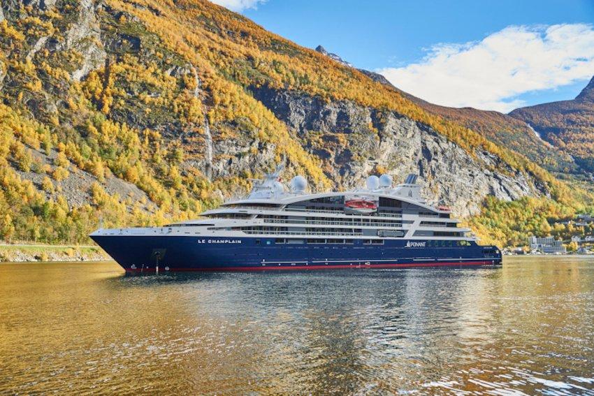 PONANT Le Champlain in Norwegen © Ponant - Mike Louagie