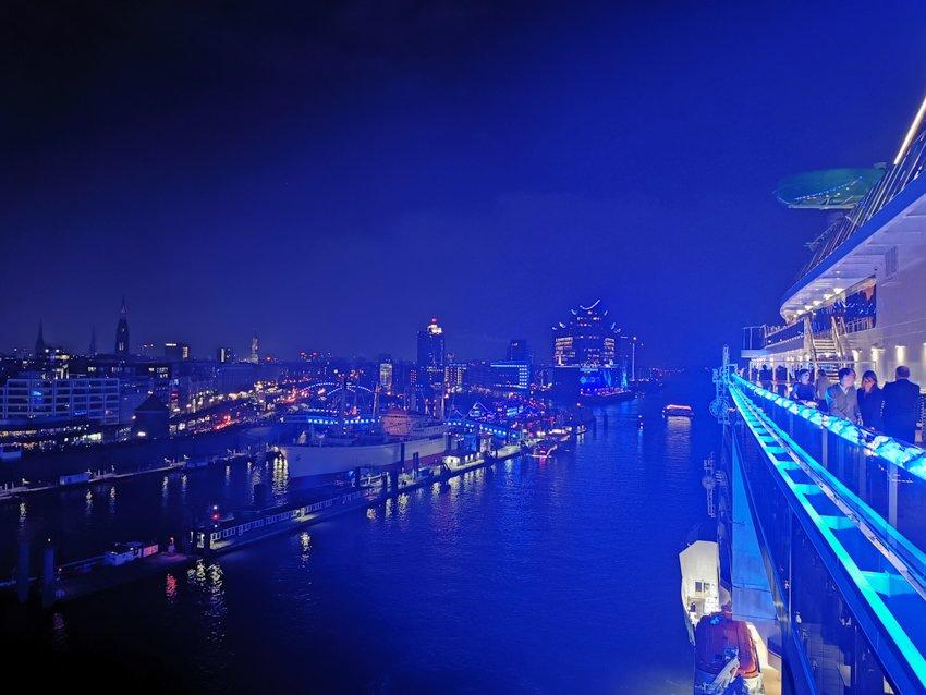 Taufe MSC Grandiosa Hamburg