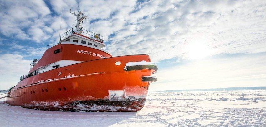 singlereisen.de_Lappland_Arctic Explorer Icebreker