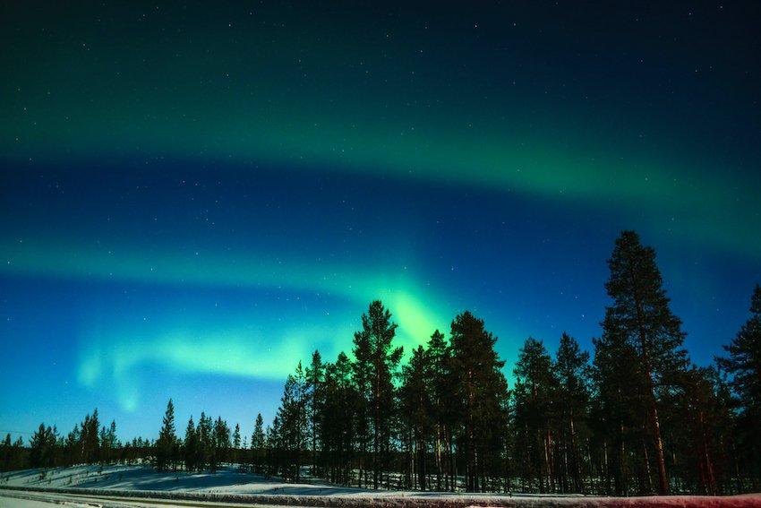 singlereisen.de_Lappland_Polarlichter