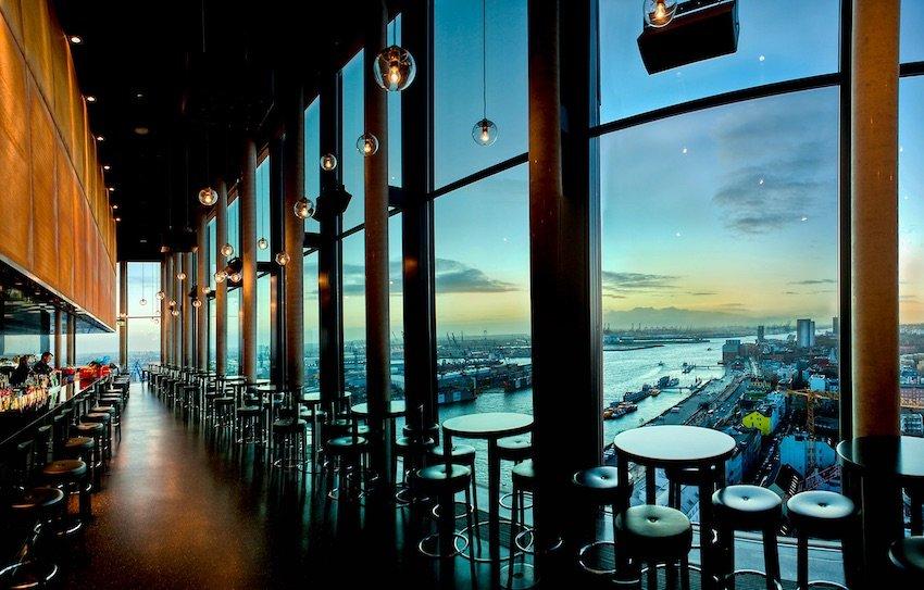 Blick aus der Skyline 20up Bar