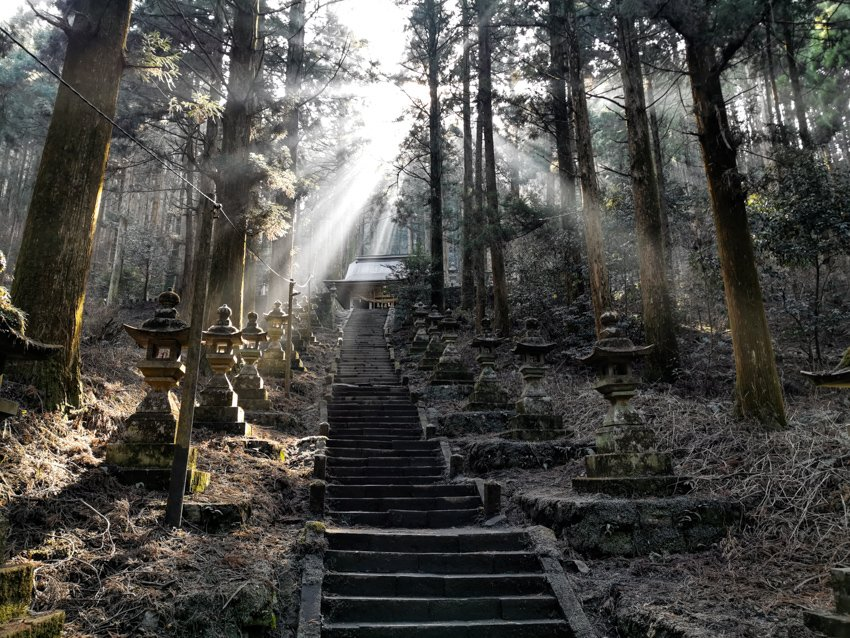 Kyushu - Japan - Reise - Kamishiki-Mikumanoimasu-Jinja