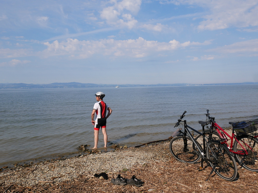 Radtour um den Bodensee 1