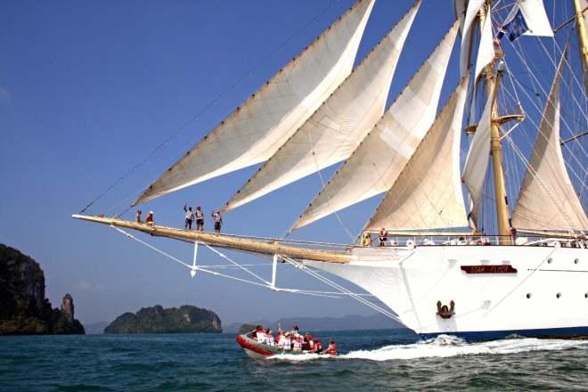 Star Clipper - Segeln in der Karibik (Tag 0)