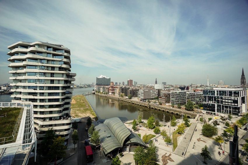 Hamburg: HafenCity, Dalmannkai
